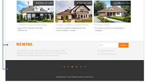 Free Real Estate Website Template by Rental Joomla Real Estate Template
