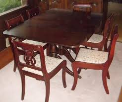 Duncan Phyfe Dining Room Table And Chairs Duncan Phyfe Dining Room Chairs Stunning Decor Astounding Duncan
