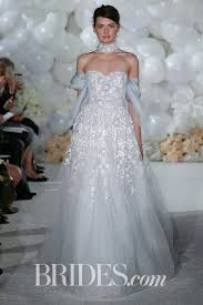wedding dress colors 61 colored wedding dresses from bridal fashion week brides