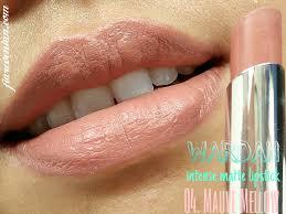 Wardah Lip Di Pasaran review wardah matte lipstick 5 warna untuk si sawo matang