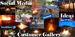 Easy Fire Pits by Diygasfirepits Com Create A Diy Custom Gas Fire Pit Table Feature