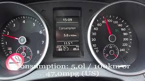 2010 volkswagen golf variant fuel consumption test youtube