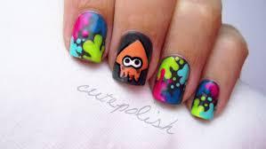 splatoon nail art nerd nail series youtube