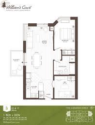 Den Floor Plan William U0027s Court Floor Plans