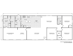 Model Home Floor Plans Weston 28764w Fleetwood Homes