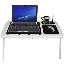 Bed Laptop Desk Laptop Desk Table Bed Cooling With 2 Fans Stand Tray Co Uk