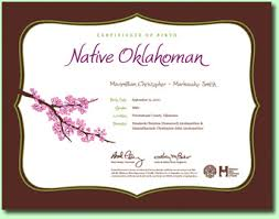 Birth Certificate Correction Sle Letter Birth Certificates Oklahoma State Department Of Health