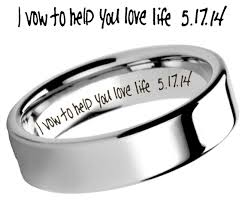 engravings for wedding rings common engravings