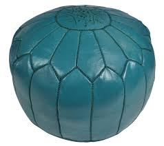 Ottoman Morocco Leather Poufs In All Colors For The Home Pinterest Leather
