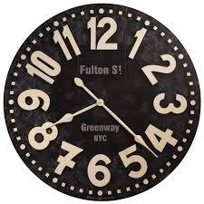 Howard Miller Clock Value Fulton Street Wall Clock 36