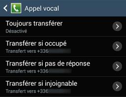 transfert de si e comment activer et désactiver le transfert d appel sur android