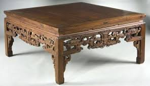 oriental coffee table with stools cfee cfee chinese carved coffee