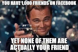 Facebook Friends Meme - leonardo dicaprio cheers meme imgflip