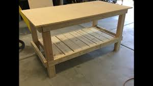 easy to build simple workbench youtube