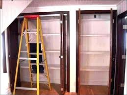 Vinyl Closet Doors Wood Accordion Doors Medium Size Of Accordion Doors For Closets