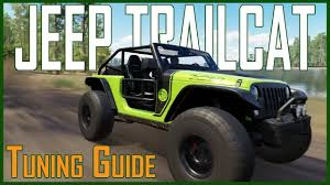 green zombie jeep jeep trailcat forza horizon 3 best s1 tuning guide gameplay