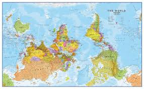World Map Scotland by World Wall Maps Buy Online From Maps International