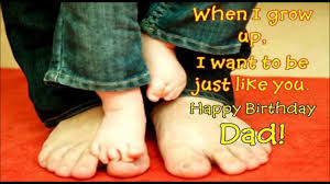 quote for daughter by father happy birthday dad wishes sms quotes message greetings for