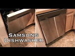 Samsung Dw80f600uts Dishwasher Reviews Samsung Diswasher Product Review Youtube