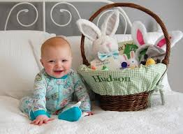pre made easter baskets for babies best 25 easter pictures for babies ideas on