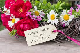 congratulations on your wedding congratulations on your marriage stock photo image of greeting