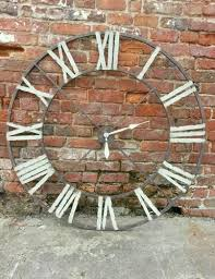 Large Shabby Chic Wall Clock by Best 25 Kitchen Clocks Ideas On Pinterest Farm Kitchen Decor