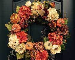 autumn wreath items similar to fall wreath thanksgiving wreath front door