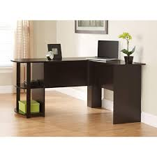 L Shaped Desk With Side Storage Desk Organization Desks Ameriwood Home Dakota L Shaped Desk With