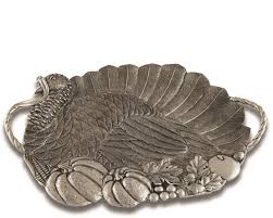pewter serving platter pewter turkey serving tray handcrafted pewter tableware by