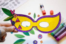 mardi gras paper 19 free mardi gras mask templates for kids and adults