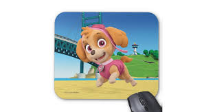 paw patrol skye mouse pad zazzle