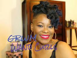 grwm hair edition wand curls u0026 a bun on shaved sides undercut