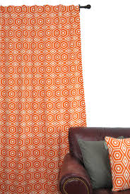 Amazon Living Room Curtains by Amazon Com Ez Living Home Honeycomb Window Panel 84l Tangerine
