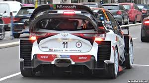 cars toyota 2017 2017 toyota yaris wrc pure sound in action rallye monte carlo