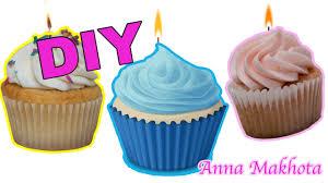 cupcake candles diy how to make cupcake candles