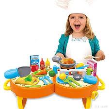 jeu de cuisine enfant bowa 31 pièces jeu d imitation ustensiles jouet de cuisine pour