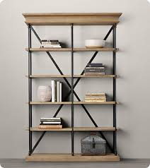 Metal Bookcase Bookshelf Glamorous Metal Bookshelves Interesting Metal