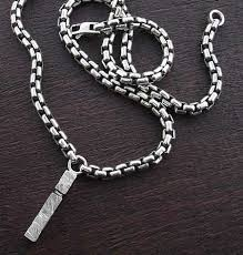 mens chain necklace silver images Mens chain necklace white house designs jpg