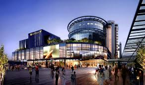 shopping mall singpost is developing a futuristic shopping mall to house online