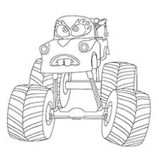 10 wonderful monster truck coloring pages toddlers monster