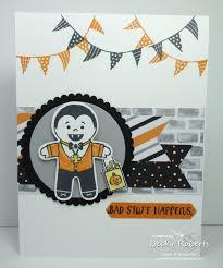 inking idaho halloween cookie cutter cards
