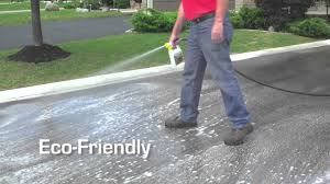 Flo Coat Concrete Resurfacer by Epoxyshield Driveway Youtube