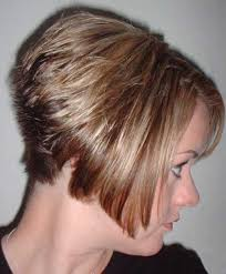 how to cut stacked hair in back short haircut styles stacked short haircuts straight inverted