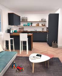 amenagement salon cuisine 30m2 amenagement salon salle a captivant cuisine ouverte sur salon 30m2