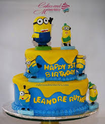 minions cake 2 layer minions birthday cake cakes and memories