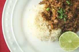 sunday slow cooker thai curry ground beef slender kitchen