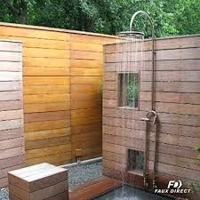 How To Make An Outdoor Bathroom How To Make An Outdoor Shower Drain Enclosure Limette Co