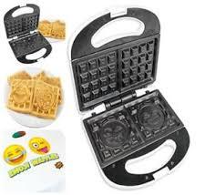 iron gifts excellent belgian emoji iron waffle maker flip breakfast
