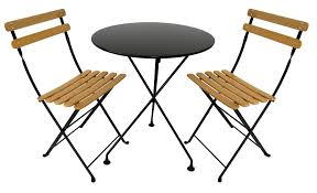 Folding Bistro Table And 2 Chairs Folding Cafe Table And Chairs Top 10 Bistro Sets For Outdoor Cafe