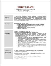 Certified Nursing Assistant Cover Letter Sample Plush Design Ideas Outline For A Resume 5 Resume Outline Template